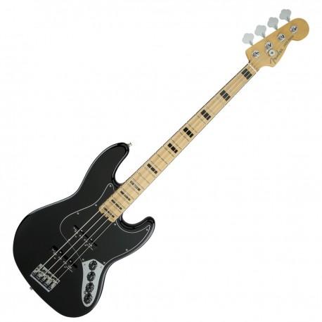 Fender American Elite Jazz Bass Black, Mapled