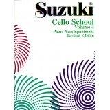 Suzuki Cello School Vol.4