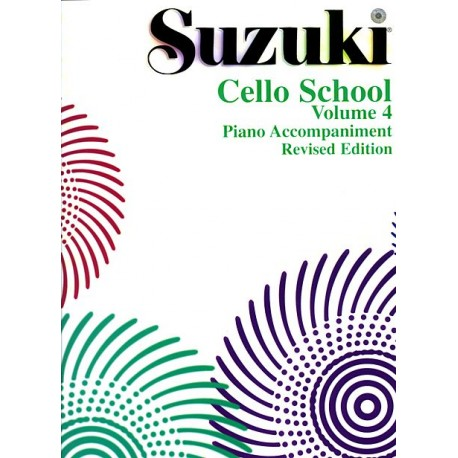 Suzuki Cello School Vol.4