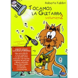 Fabbri, Robe Tocamos la Guitarra Vol.2 +CD