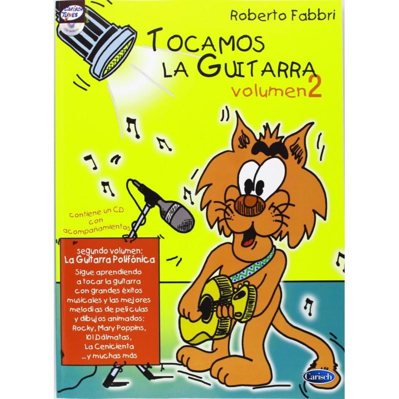 Fabbri, Robe Tocamos la Guitarra Vol.2 +CD