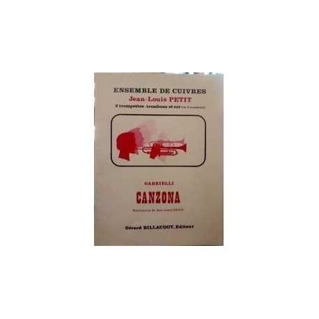 Gabrielli Canzona (2 Trompetas, Trombon y Trompa)