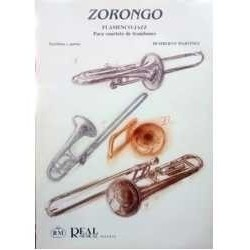 Martínez, Hu Zorongo. Flamenco Jazz (4 Trombones)