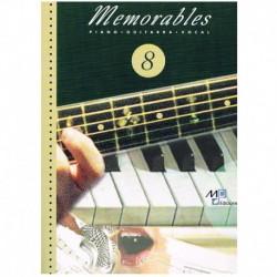 Memorables 8 (Piano/Voz/Guitarra)