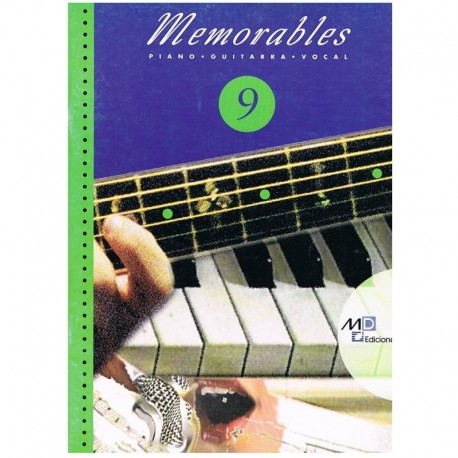 Memorables 9 (Piano/Voz/Guitarra)