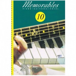 Memorables 10 (Piano/Voz/Guitarra)