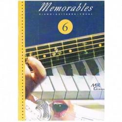 Memorables 6 (Piano/Voz/Guitarra)