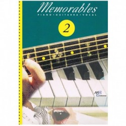 Memorables 2 (Piano/Voz/Guitarra)