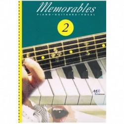 Memorables 2 (Piano/Voz/Guitarra)