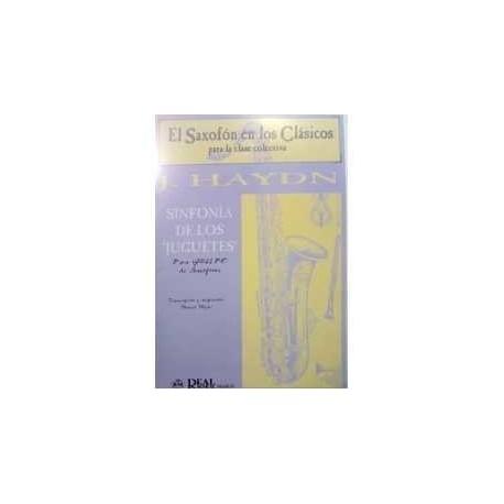 Haydn, Joseph. Sinfonía de los Juguetes (Grupo de Saxofones). Real Musical