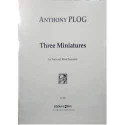 Plog, Anthon Three Miniatures (Tuba and Wind Ensemble)