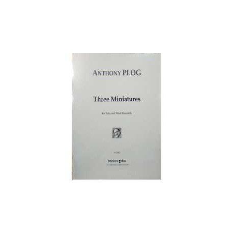 Plog, AnthonY. Three Miniatures (Tuba and Wind Ensemble). BIM
