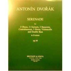 Dvorak, A. Serenade Re menor Op.44 (2 Oboes, 2 Clarinetes, 2 Fagots, Contra