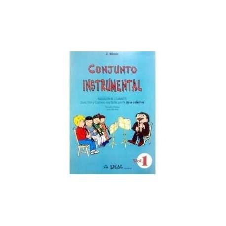 Nomar. Conjunto Instrumental. Iniciación al Clarinete Vol.1 (Dúos, Tríos y Cuartetos). Real Musical