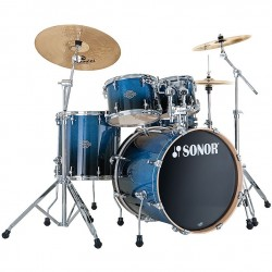 BATERIA SONOR ESSENTIAL STUDIO BLUE FADE