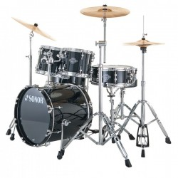 BATERIA SONOR SMART FORCE XTENDED STAGE 1 BLACK.PLATOS.