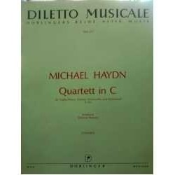 Haydn,M. Cuarteto en Do...