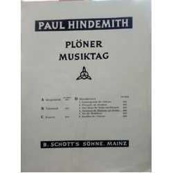 Hindemith, P Variaciones para Clarinete y Trio de Cuerda