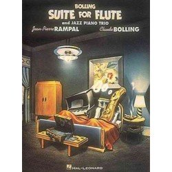 Hal Leonard Claude Bolling - Suite for Flute and Jazz Piano