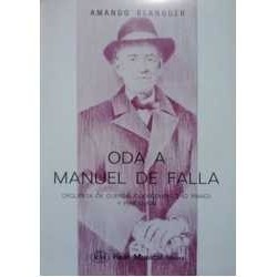 Oda a Manuel de Falla...