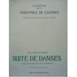 Bach, J.S. Suite de Danses (4 Trompetas y 4 Trombones)