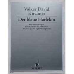 Kirchner, V. El Arlequin Azul (Flauta, Clarinete, 2 Fagots, 2 Trompetas, 2 Tr