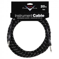 Cable Fender Custom Shop 6m Tweed Black