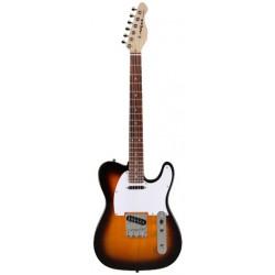 Guitarra ARIA Telecaster 615 Frontier sombreado