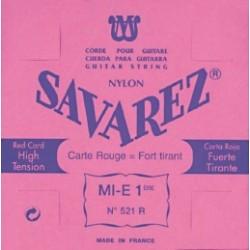 Cuerda SAVAREZ Carta Roja 3ª