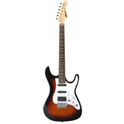 Guitarra ARIA Stratocaster Serie STG 004 sombreado