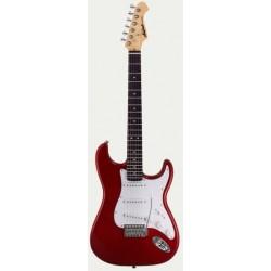Guitarra ARIA Stratocaster Serie STG 003 rojo