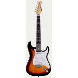 Guitarra ARIA Stratocaster Serie STG 003 sombreado