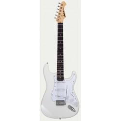 Guitarra ARIA Stratocaster Serie STG 003 blanco