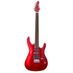 Guitarra ARIA MAC STD Rojo