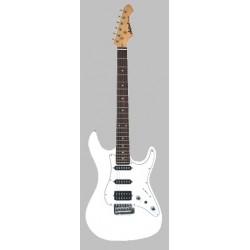 Guitarra ARIA Stratocaster Serie STG 004 blanco