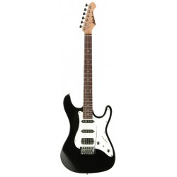 Guitarra ARIA Stratocaster Serie STG 004 negro