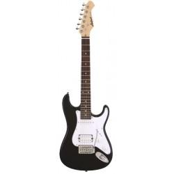Guitarra ARIA Stratocaster MINI negro SERIE STG 1 2