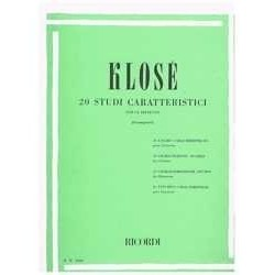 Klose. 20 Estudios...