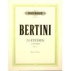 Bertini. 24 Estudios Op.32...