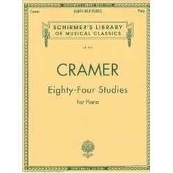 Cramer. 84 Estudios para Piano