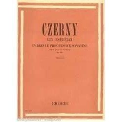 Czerny. 125 Ejercicios en...