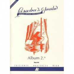 Varios. Los Maestros De La Juventud Vol.2 (Piano Fácil)
