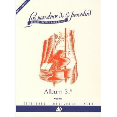 Varios. Los Maestros De La Juventud Vol.3 (Piano Fácil)