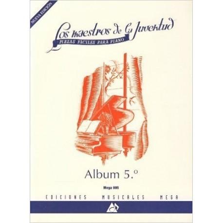 Varios. Los Maestros De La Juventud Vol.5 (Piano Fácil). Mega
