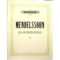Mendelssohn. Piezas para...