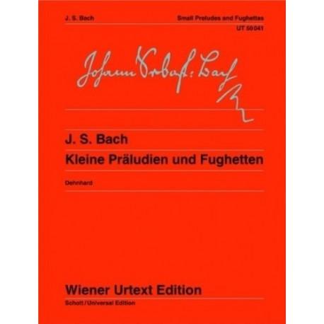 Bach, J.S. Pequeños Preludios Y Fugas (Piano)