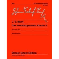 Bach, J.s Clave Bien Temperado V.2 (urtext)