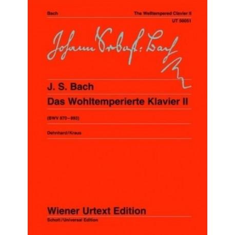 Bach, J.S. El Clave Bien Temperado Vol.2 (Piano)