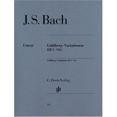 Bach, J.s. Variaciones Goldberg Bwv 988 (Piano). Henle Verlag