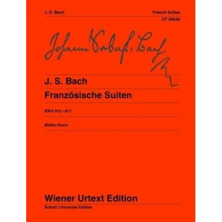 Bach, J.S. Suites Francesas (Piano)